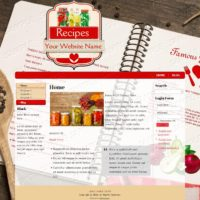 Recipes/Cooking (Logo Optional)