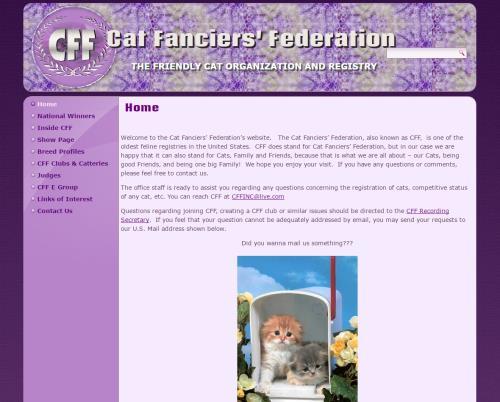 Cat Fanciers Federation - CFFinc