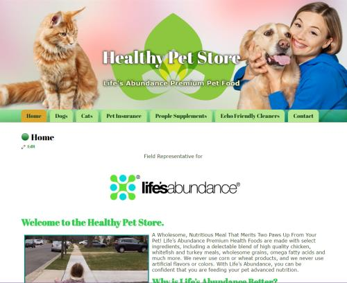 Healthy Pet Store