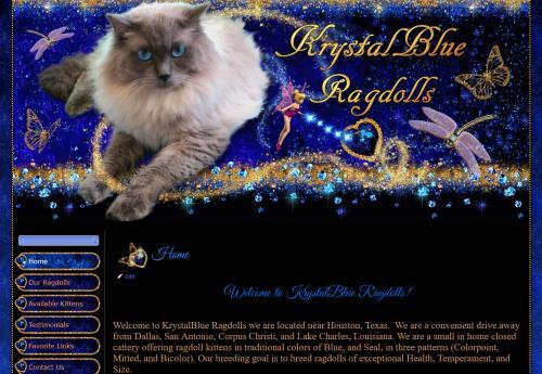 Krystal Blue Ragdolls